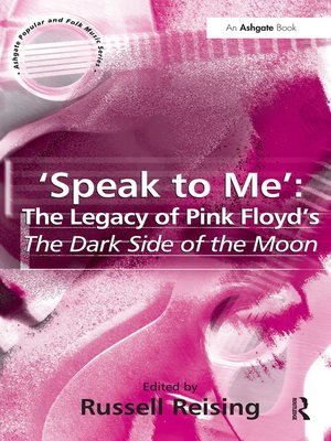 cover image of 'Speak to Me'