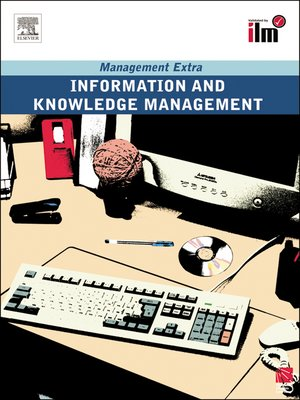 cover image of Information and Knowledge Management Revised Edition