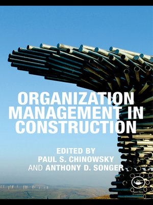cover image of Organization Management in Construction