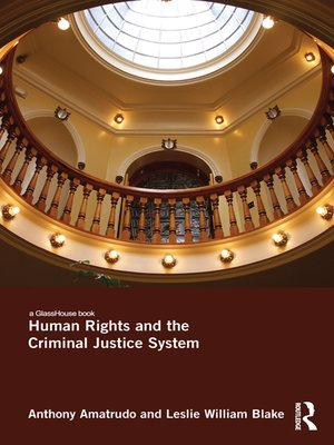 cover image of Human Rights and the Criminal Justice System