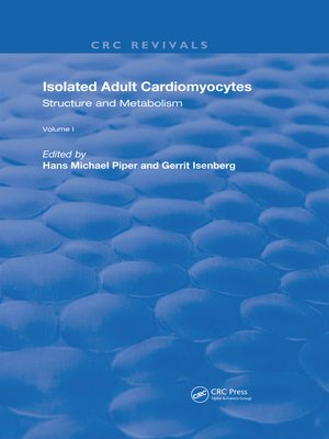 cover image of Isolated Adult Cardiomyocytes