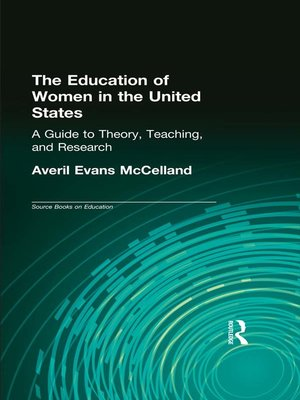 cover image of The Education of Women in the United States