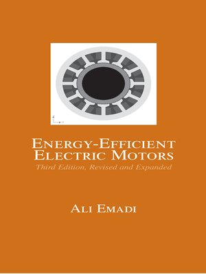 cover image of Energy-Efficient Electric Motors, Revised and Expanded
