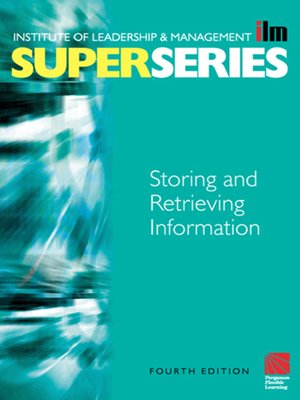 cover image of Storing and Retrieving Information