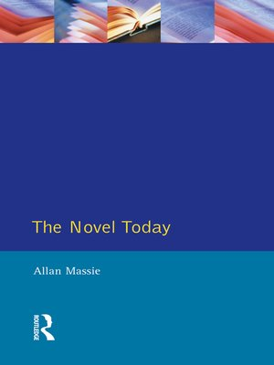 cover image of The Novel Today