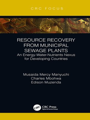cover image of Resource Recovery from Municipal Sewage Plants