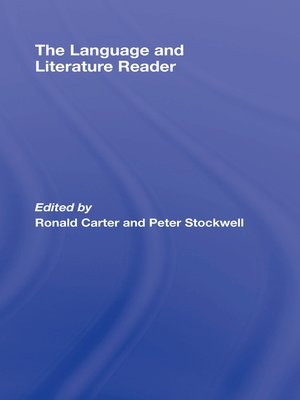 cover image of The Language and Literature Reader