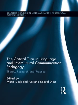 cover image of The Critical Turn in Language and Intercultural Communication Pedagogy