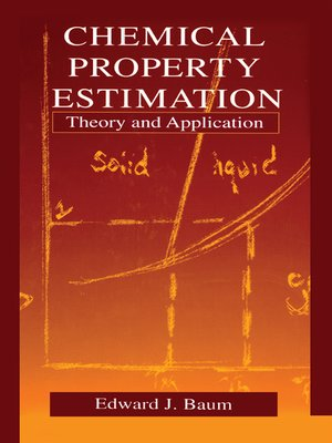 cover image of Chemical Property Estimation