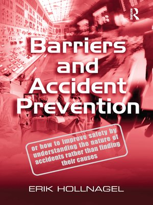 cover image of Barriers and Accident Prevention