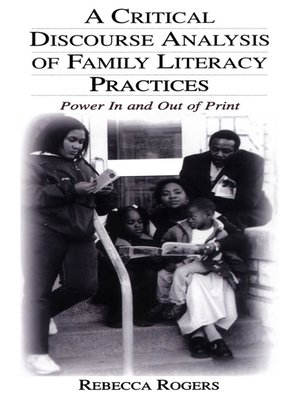 cover image of A Critical Discourse Analysis of Family Literacy Practices