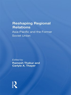 cover image of Reshaping Regional Relations