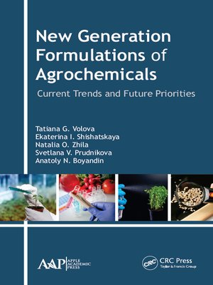 cover image of New Generation Formulations of Agrochemicals