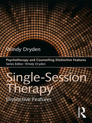 cover image of Single-Session Therapy