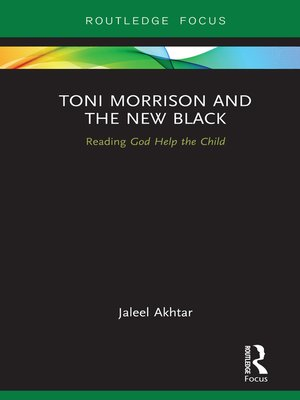 cover image of Toni Morrison and the New Black