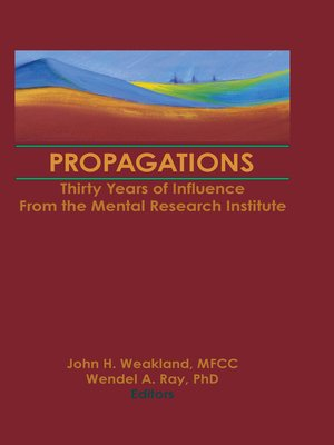 cover image of Propagations