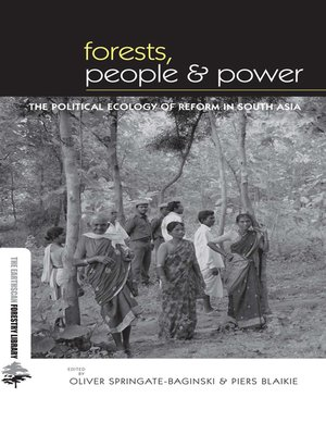 cover image of Forests People and Power