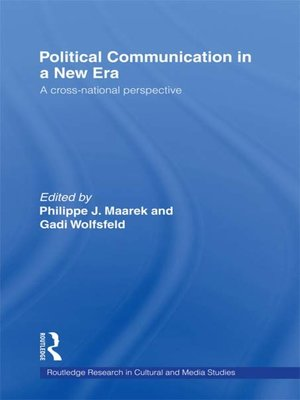 cover image of Political Communication in a New Era