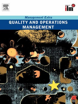 cover image of Quality and Operations Management Revised Edition