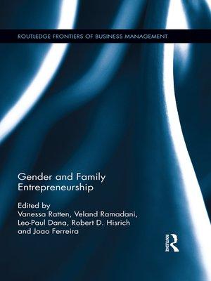 cover image of Gender and Family Entrepreneurship