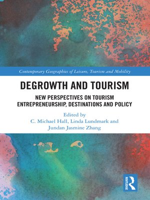 cover image of Degrowth and Tourism
