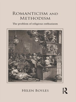 cover image of Romanticism and Methodism