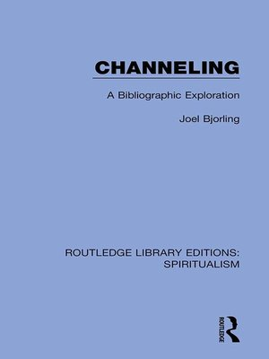 cover image of Channeling