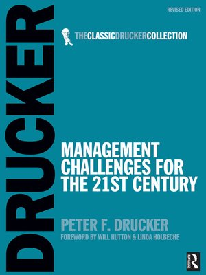 cover image of Management Challenges for the 21st Century