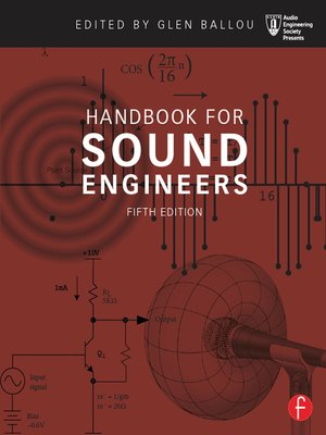 cover image of Handbook for Sound Engineers