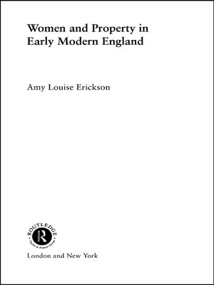 cover image of Women and Property