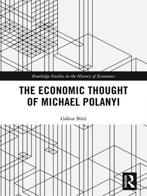 cover image of The Economic Thought of Michael Polanyi