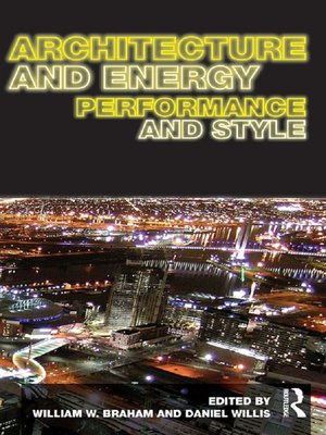 cover image of Architecture and Energy