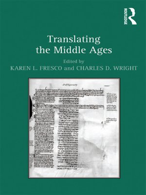 cover image of Translating the Middle Ages