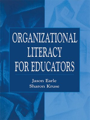 cover image of Organizational Literacy for Educators