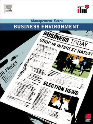 cover image of Business Environment Revised Edition