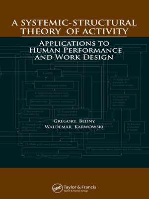 cover image of A Systemic-Structural Theory of Activity