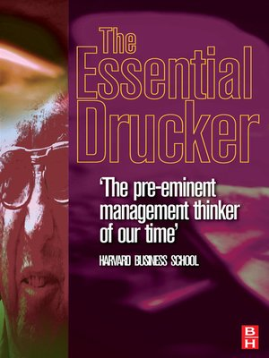 cover image of Essential Drucker