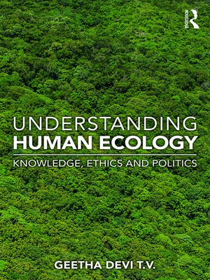 cover image of Understanding Human Ecology