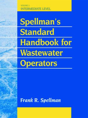 cover image of Spellman's Standard Handbook for Wastewater Operators