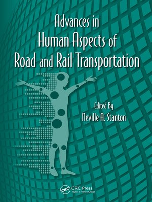 cover image of Advances in Human Aspects of Road and Rail Transportation