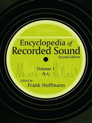 cover image of Encyclopedia of Recorded Sound