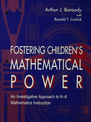 cover image of Fostering Children's Mathematical Power