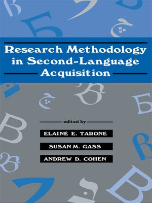 the handbook of second language acquisition pdf