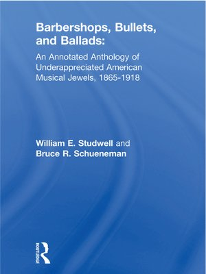 cover image of Barbershops, Bullets, and Ballads