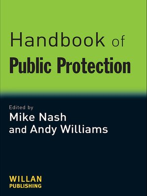 cover image of Handbook of Public Protection