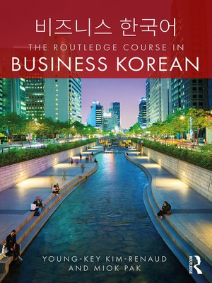 cover image of The Routledge Course in Business Korean