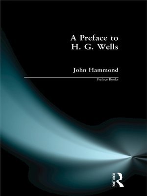 cover image of A Preface to H G Wells