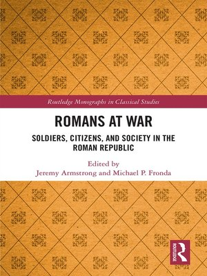 cover image of Romans at War