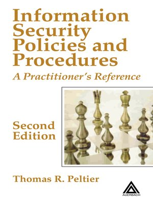 cover image of Information Security Policies and Procedures