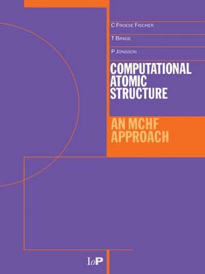 cover image of Computational Atomic Structure